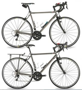 bici premium titaneo strada