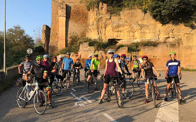 Week End in Bicicletta in Italia