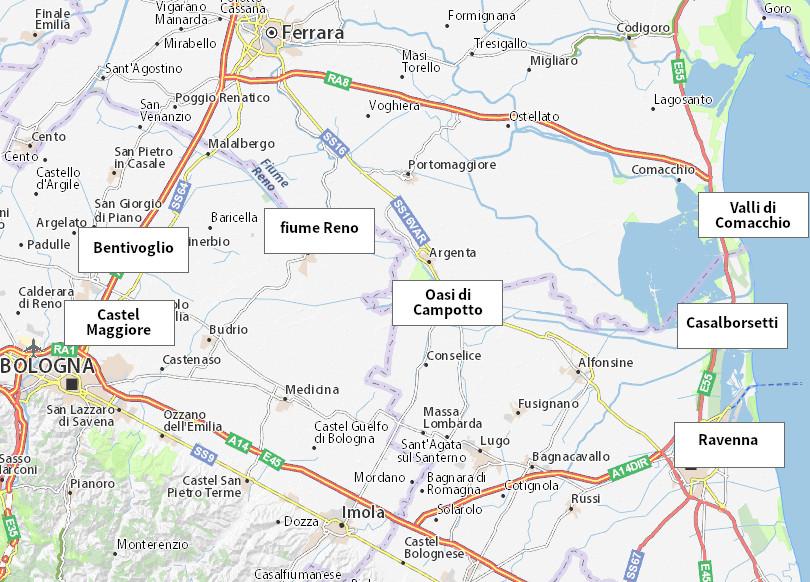 ViaDelMare mappa