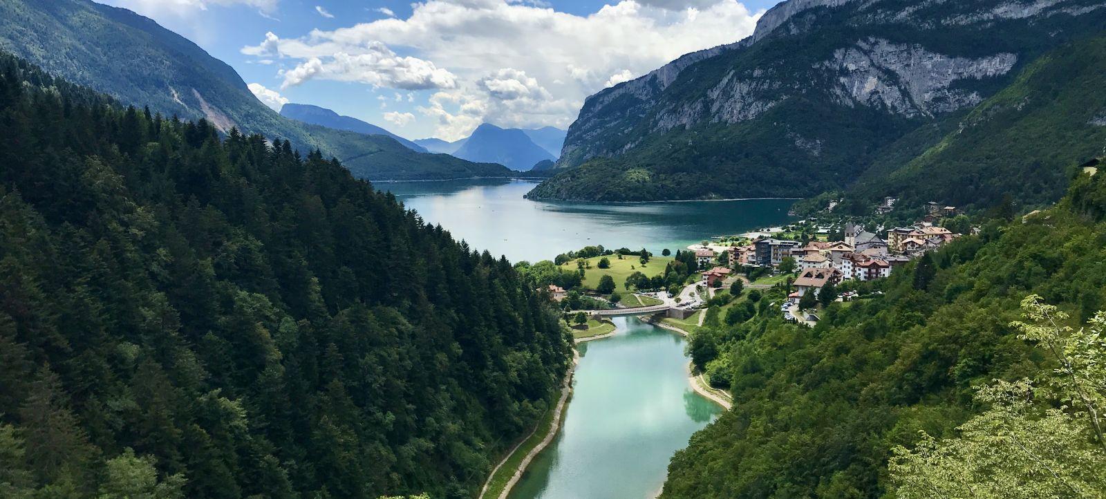 Tour in e-MTB delle Dolomiti del Brenta