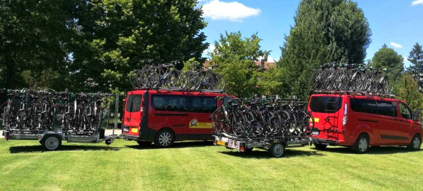 Noleggio Flotte di Biciclette per operatori del turismo