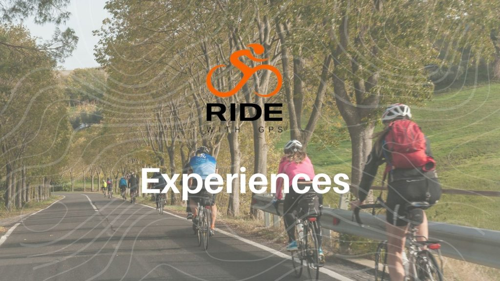 Ride with GPS banner experiences