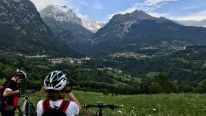 Dolomiti di Brenta in emtb - panorama